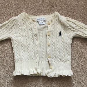 Ralph Lauren Shirts & Tops - Ralph Lauren baby girl sweater